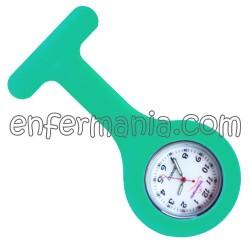 Reloj silicona Enfermania - Verde quirofano
