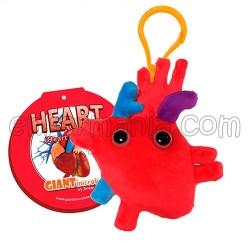 Chaveiro Giantmicrobe - Corazón