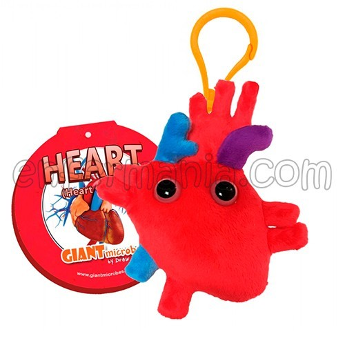 Schlüsselanhänger Giantmicrobe - Herz
