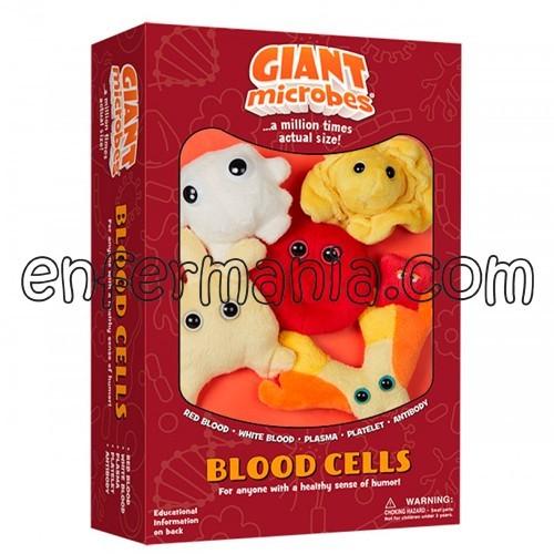 Caja mini-giantmicrobes Células Sanguíneas