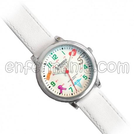 Reloj pulsera premium piel - Medical Symbols