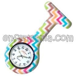 Relógio silicone Enfermania - ZigZag