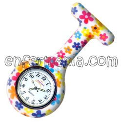 Montre silicone Enfermania - ColorFlower