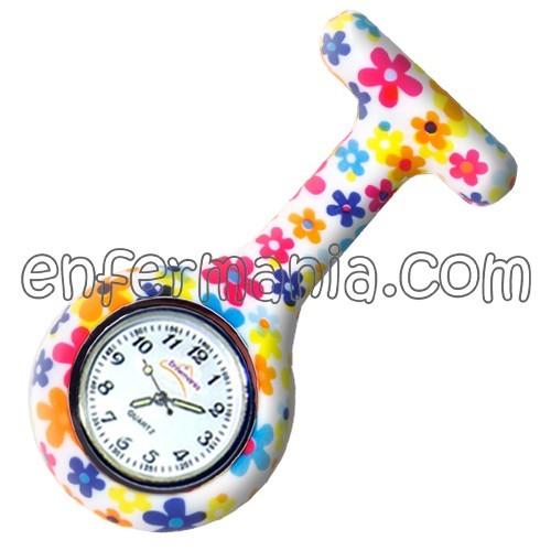 Orologio in silicone Enfermania - ColorFlower