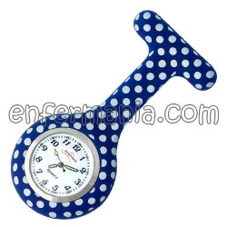 Relógio silicone Enfermania - Dotty