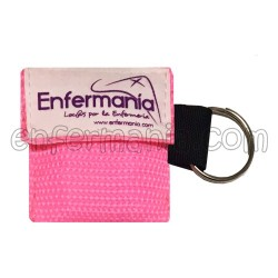 Key chain mask, CPR - Enfermanía