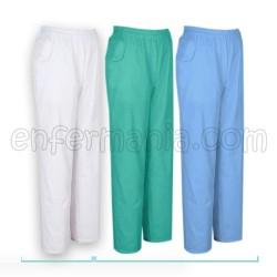 Pantalon taille élastique classique