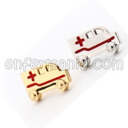 Pendant with chain Heart EKG