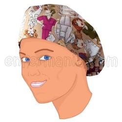 Chapeau Cheveux Longs - Personnel - Beige