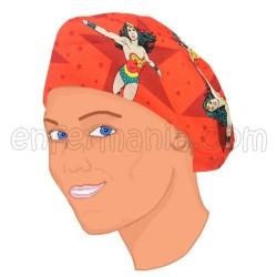 Mütze Langes Haar - Superwoman