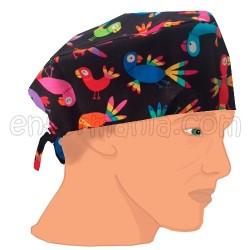 Mütze kalotte - parrot