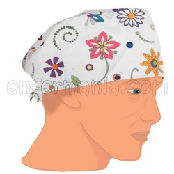 Mütze kalotte - Garden Pop