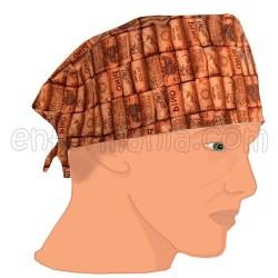 Mütze kalotte - Merlot