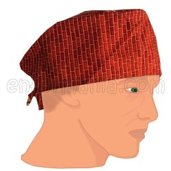 Gorro casquete - Bricks