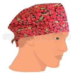 Mütze kalotte - Cherries