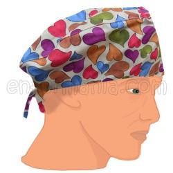 Hat cap - heart of autumn