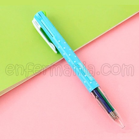 Kugelschreiber 4 farben - Feine Spitze