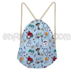Bag-Backpack-Waterproof - Blue Pictures