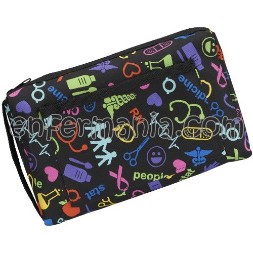 Estuche multiusos - Medical Symbols Black
