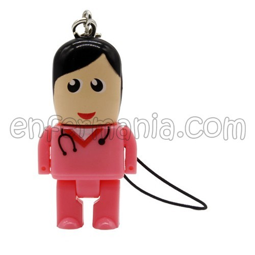 USB Mini Pendrive 32 GB - Hamburguesa