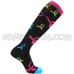 Socks compression - TIES - BLACK