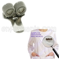 Caneta clip Pocket - 2 molas