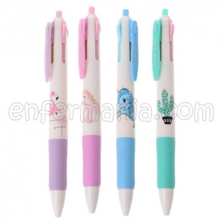 Ballpoint pen 4 colors - SuperCool