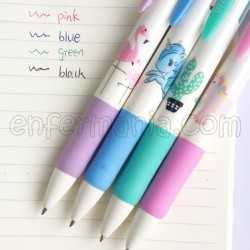 Ballpoint pen 4 colors - SuperCool
