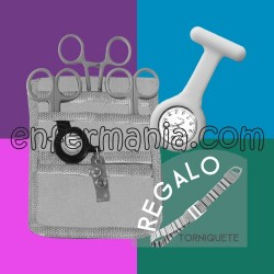 Le Pack complet (organisateur + ciseaux + horloge + garrot cadeau)