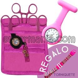 Pack complert (organitzador + tisora + rellotge + torniquet regal)