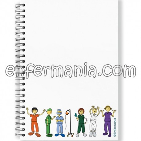 Libreta Enfermania Compis