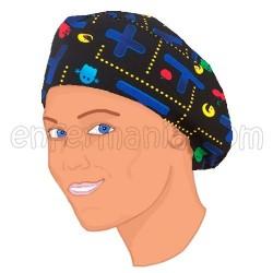 Mütze Langes Haar - Pacman