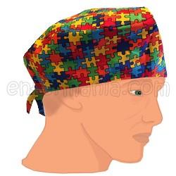 Chapeau de camionneur - Traces