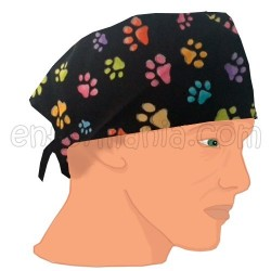 Mütze kalotte - Spuren