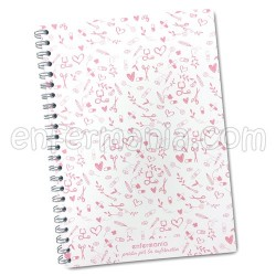 A4 Sweet notebook