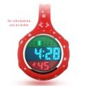 Detalle reloj digital