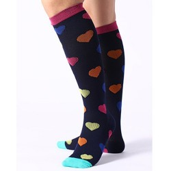 Socks compression - HEARTS...