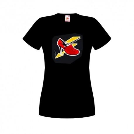 Camiseta mujer - negro - DUE Power