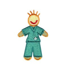 Applique - Boy- Green