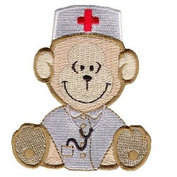 Textile Applique - Nurse...