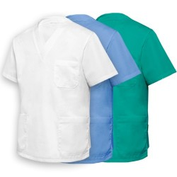 V-Neck classic uniform top