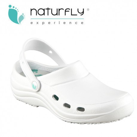 Zueco EVA - Naturfly - Blanco