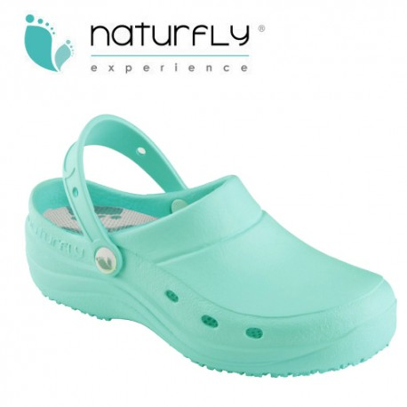 Clog, EVA - Naturfly - Aquamarine