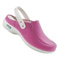 Leather Clog Washable...