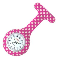 Nurses silicone Watch - Dotty