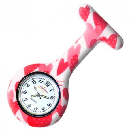 Nurses silicone Watch  - Morango
