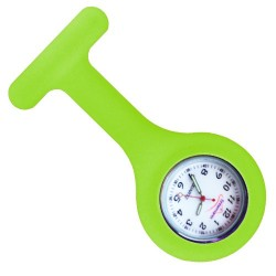Reloj silicona Enfermera - Verde Fluor