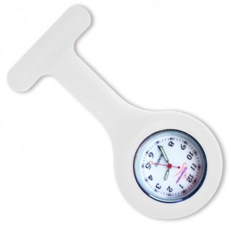 Reloj silicona Enfermania - Blanco