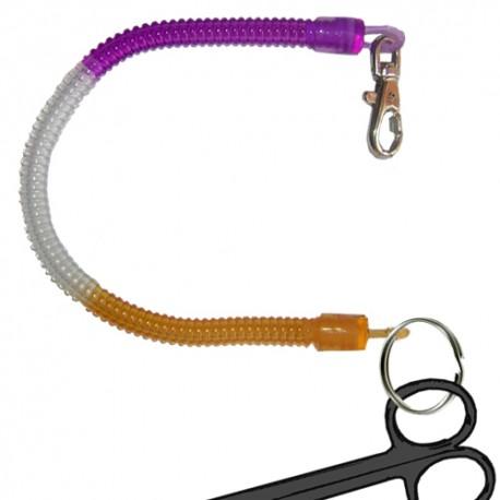 Porta tijeras espiral multicolor XL