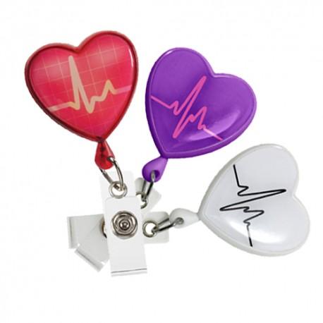 Retractable Heart - EKG